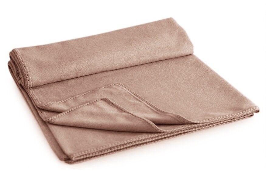 Alpaca QUEEN Blanket 90 X 90 - BEIGE Peru Gorgeous Baby Soft