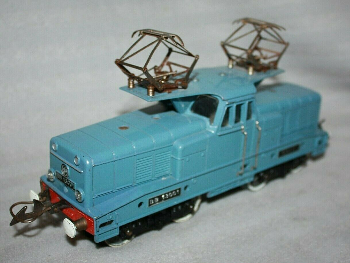 French Hornby Serie O Gauge 3 Rail Locomotive SNCF 20V TZB RN BB13001 Pantograph