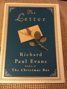 The Letter by Richard Paul Evans (BB) *HB* Book 3: 'The Christmas Box' Trilogy! 9780684834726 | eBay