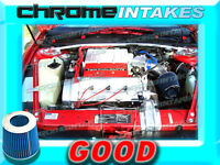Blue 90 91 92 93 Chevy Lumina/oldsmobile Cutlass Supreme 3.4l V6 Z34 Air Intake