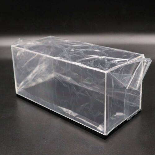 Model Car Acrylic Display Transparent Dust Proof Box Black Base Lot of Size Case