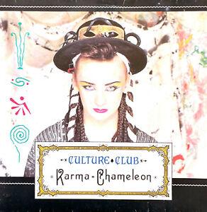 "Culture Club 7"" Karma Chameleon - France"