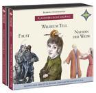 Weltliteratur für Kinder: 3-er Box Deutsche Klassik: Faust, Wilhelm Tell, Nathan der Weise von Barbara Kindermann (2013)