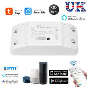 Wireless-Wi-Fi-Smart-Switch-TIMER-TELECOMANDO-Domotica-Modulo-Alexa