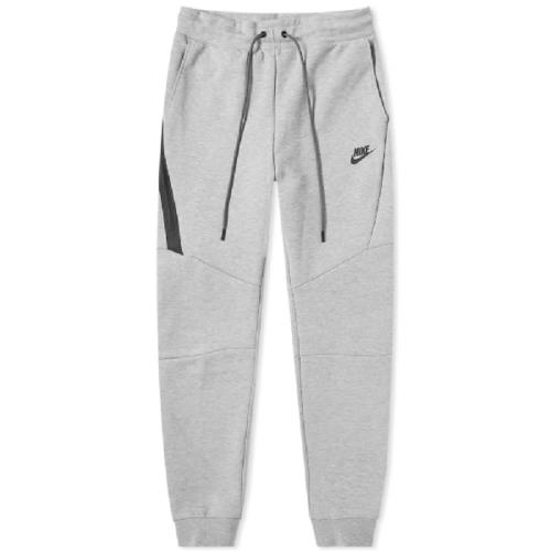 Nike Tech Fleece Jogger Grey Heather Black Pants Size 2XL Men NSW 805162-063
