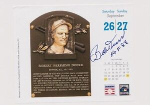 Bobby-Doerr-Boston-Red-Sox-Autographed-Mini-Calendar-Page