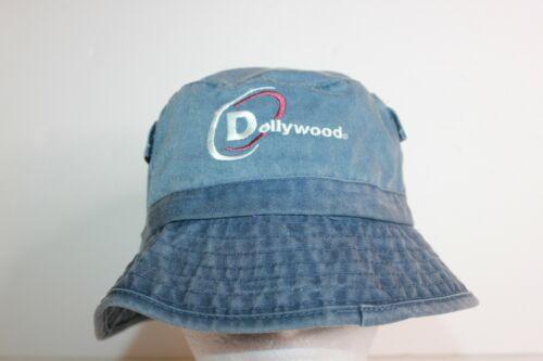 Dollywood Vintage Denim Bucket Hat Adult OSFM Side