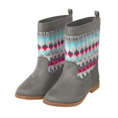NWT Gymboree Enchanted Winter Gray Boots Booties Many sizes toddler kid Girls
