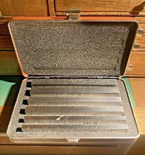 Brown Amp Sharpe 3pr 6 Steel Parallel Set 599 921 3 Surface Grinder Tool Maker