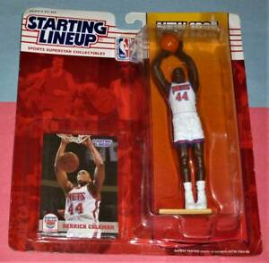 1994 DERRICK COLEMAN New Jersey Nets *FREE_s/h* final Starting Lineup