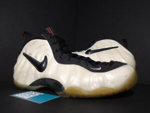 aa7e4f0c467 1997 OG NIKE AIR FOAMPOSITE PRO ONE PEARL WHITE BLACK TRUE RED ...