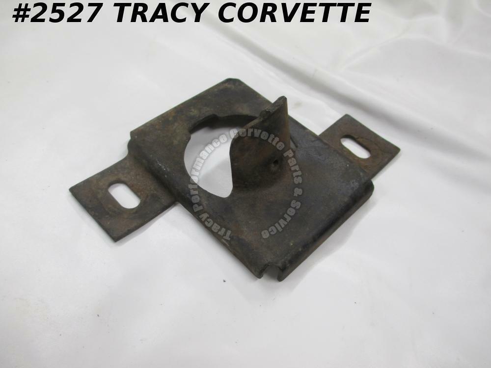 1963 Corvette Steering Column Support 3823017 w// Speedo Reset Cable Bracket Used