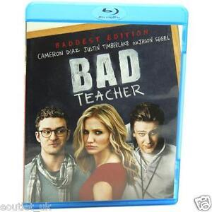 Schlechte-Lehrer-Blu-Ray-Gebiet-B-Neu-Justin-Timberlake-Cameron-Diaz-Jason-Segel