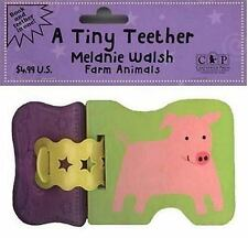 A Tiny Teether: Farm Animals (Tiny Teethers) - LikeNew - Walsh, Melanie -