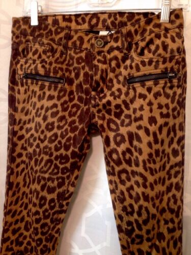 Print 26 Pants Taille Unif Cheetah BSwzqYp