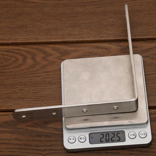 8 Packs 4 L Brackets Webi Corner Bracket,90 Degree Stainless Steel Corner Brace