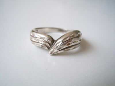 Jewelry & Watches Precious Metal Without Stones Sterling Silber Ring Mit Fisch Symbol Punze Gr 58 /4,7 G Breite 0,7 Cm Drip-Dry