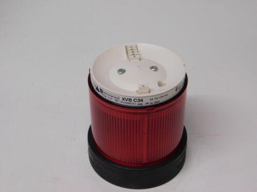 Telemecanique xvb C34 Luz de pilas torre de armonía Rojo Señal Modular