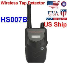 From US HS007B Wireless Camera Spy Detector RF Signal Bug WiFi Audio Cell Phone