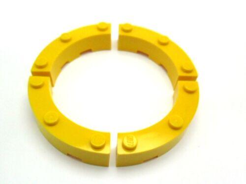 LEGO 4x quarto pietra 4x4 scanalata maccheroni selettore colori 48092