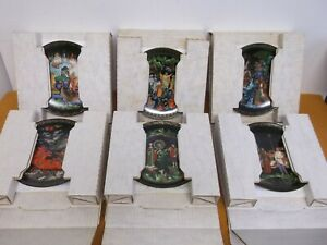 12-THE-RUSSIAN-LEGENDS-PORCELAIN-BRADFORD-COLLECTOR-PLATES-WITH-ORIGINAL-BOXES