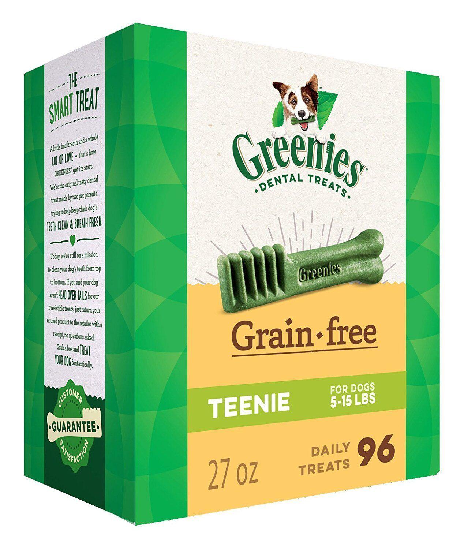 verdeies Grain Free Teenie Dimensione 96 count 27 oz   Dental Chew Treats for Dogs