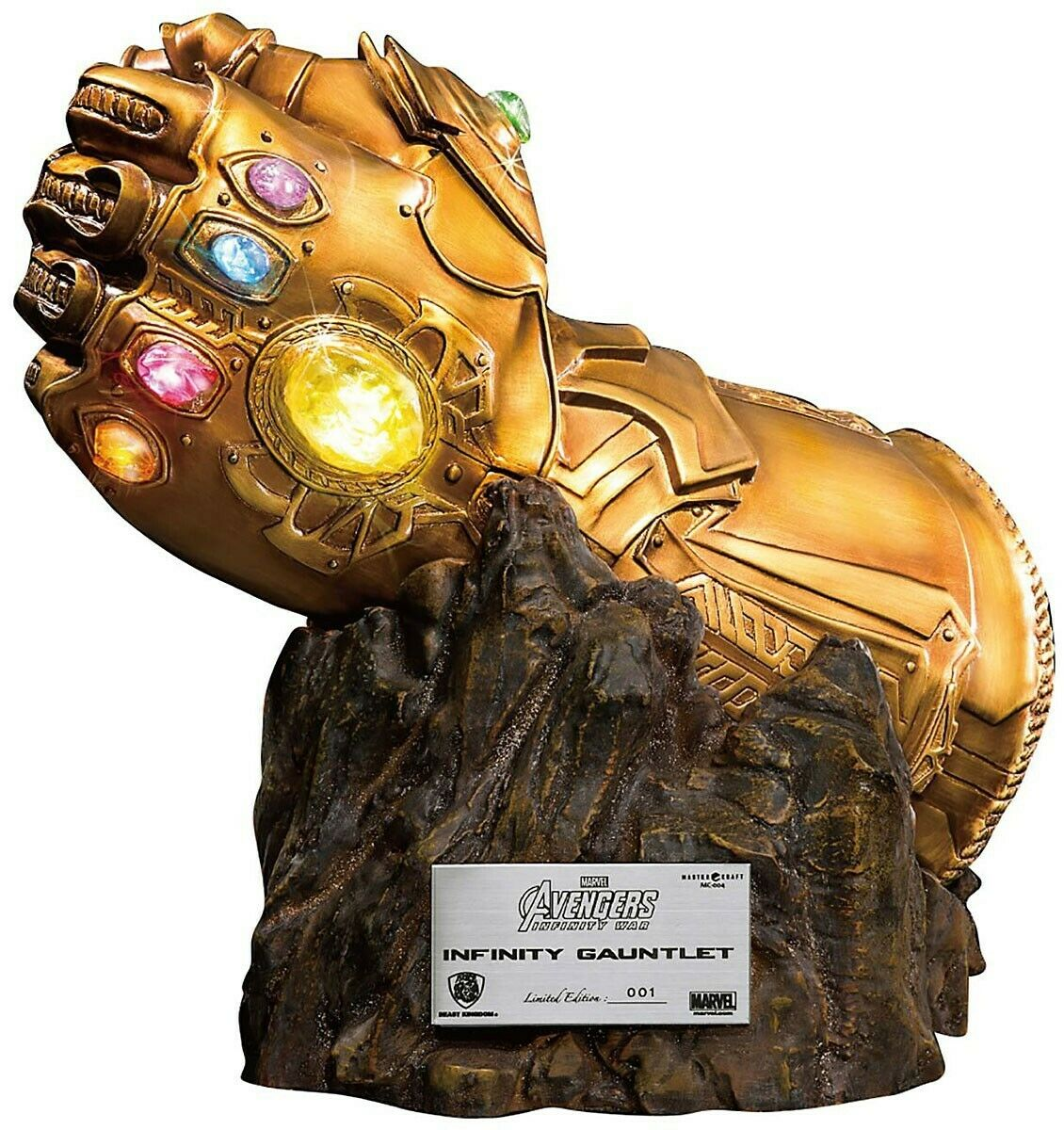 MARVEL Thanos The Infinity Gauntlet Rep. 40 40 40 cm Beast redom Master Craft Statue a9c098