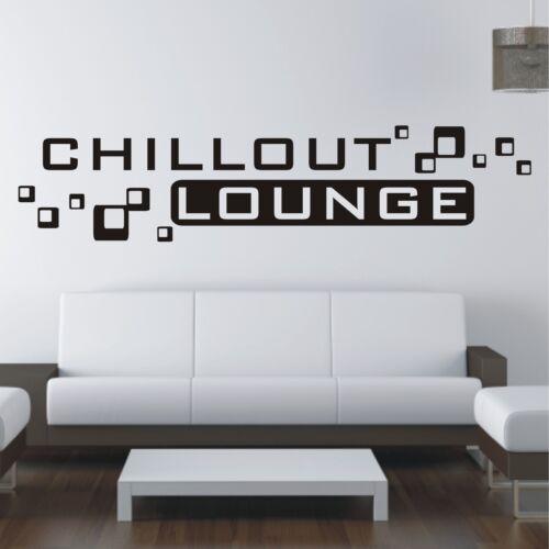 Chillout Lounge sofa lit film mural sticker Murale Autocollant w514
