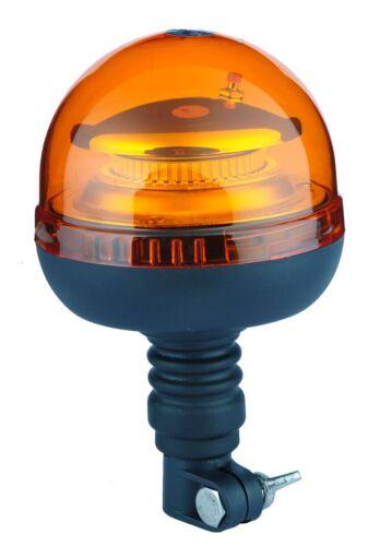 OMOLOGATO EUROPA LAMPEGGIANTE LED 3 FUNZIONI INNESTO BANDIERA FLESSIBILE