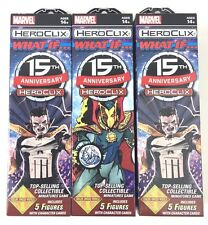 Marvel Heroclix 15th Anniversary What If Boosters x3