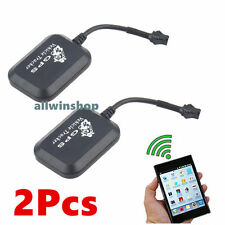 2X Mini GPS GPRS GSM Tracker car Vehicle SMS Real Time Network Monitor tracking2