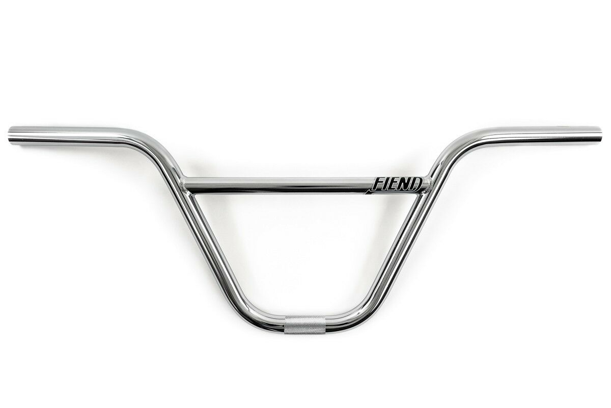 FIEND REYNOLDS 2-PIECE 8.75  RISE CHROME BMX BICYCLE HANDLEBAR