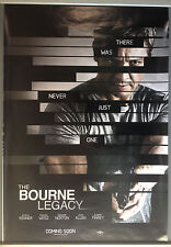 Cinema Poster: BOURNE LEGACY 2012 (Advance One Sheet) Jeremy Renner Rachel Weisz