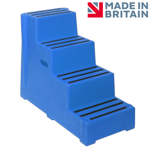 EXTRA HIGH 4 STEP PREMIUM MOUNTING BLOCK IN CHOICE OF 4 COLOURS