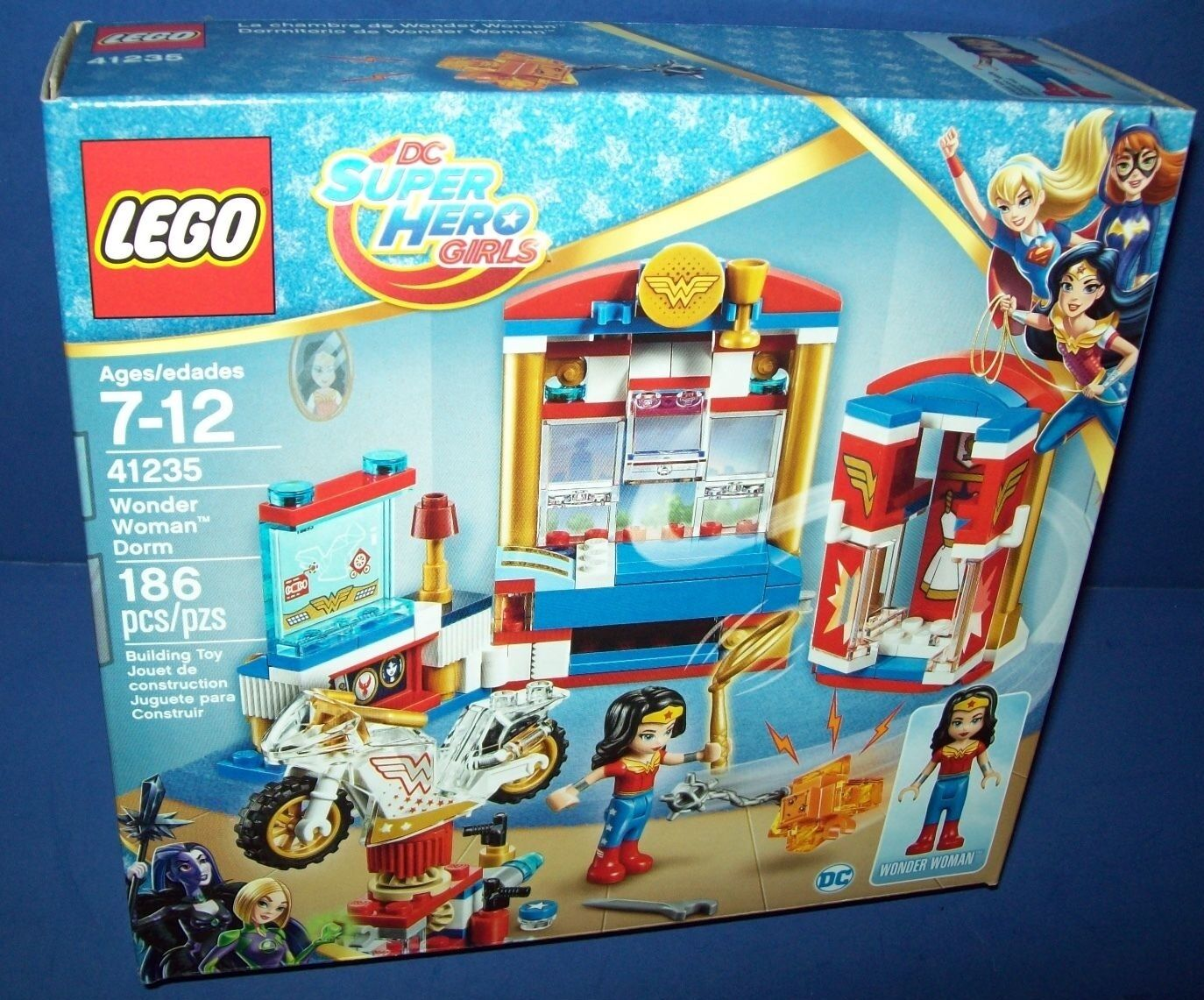 LEGO 41235 DC Super Hero Girls WONDER Frau DORM sealed in hand priority express