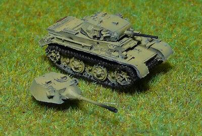 Panzer Depot //144 WWII German Sdkfz123 Luchs Tank yellow 8014A