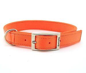 Hunter Orange Reflective Dog Bandana
