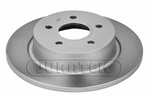 JURATEK PAIR OF REAR BRAKE DISCS FOR FORD GRAND C-MAX MPV 1.6 TDCI