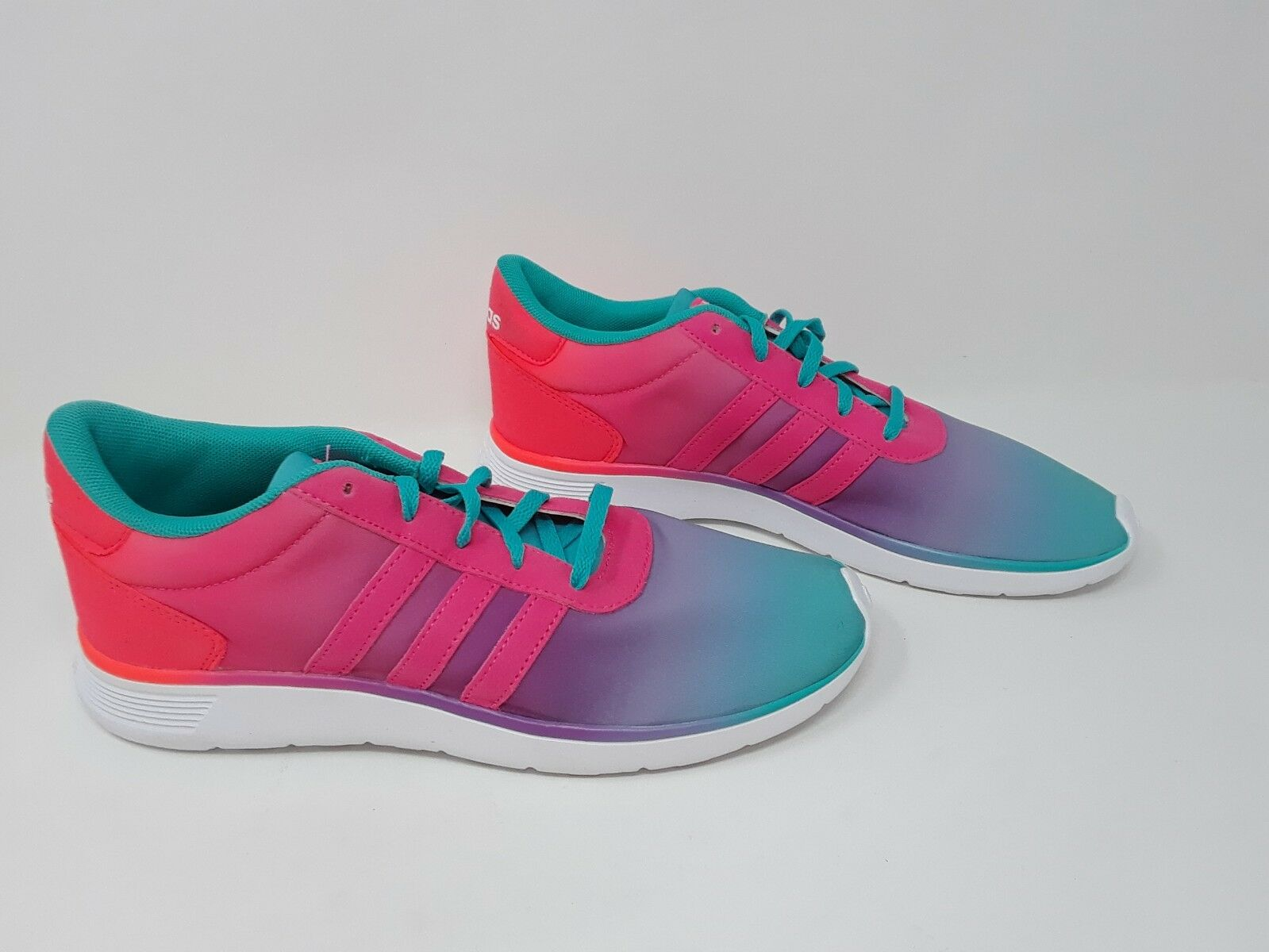 NEW  Womens Girls ADIDAS LITE RACER F99098 Multi color Sneakers  G34