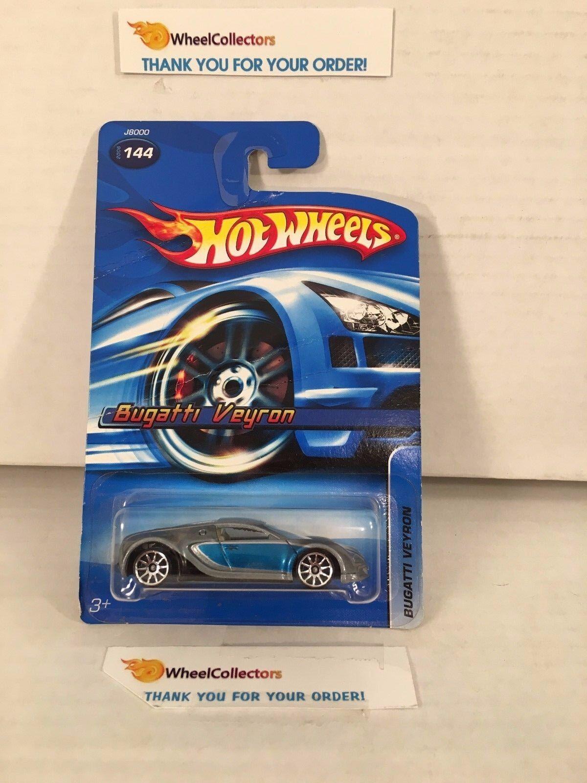 4  Bugatti Veyron  144 * All Small Wheels ASW Error * 2006 Hot Wheels * HA36