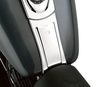 Harley Davidson Original OEM Dyna Fatbob Wide glide tank panel dash extension