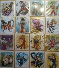 BANDAI Dragon Ball Z Super Shikishi ART 8 All 16 items colored paper set Japan