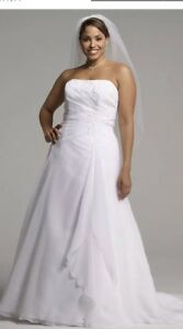 Details about BRAND NEW David's Bridal Plus Size Wedding Dress Size 20