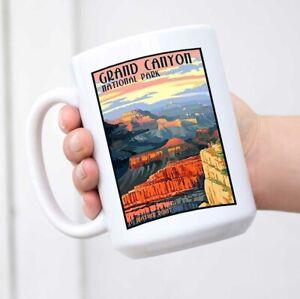 Grand Canyon National Park Travel Vintage Coffee Tea Mug Cup Gift