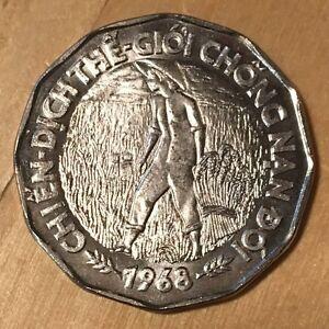 1968 Viet Nam Coin 20 Dong  F.A.O  better coin Viet Nam War Era sweet coin