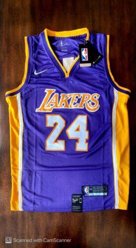 LA Lakers Kobe Bryant #24 *NEW* Purple Jersey