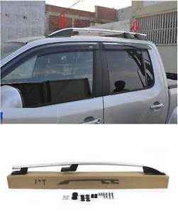 BARRE-LONGITUDINALI-ARGENTO-CORRIMANO-RAILING-DA-TETTO-Fiat-Fullback-DAL-2015