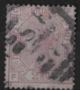 z262-Great-Britain-1873-80-Used-SG-141-2-1-2d-Plate-8-Orb-c-85