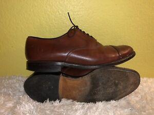8296d44a4604f9 Men s Allen Edmonds Byron Chili Brown Cap Toe Oxford Dress Shoes ...