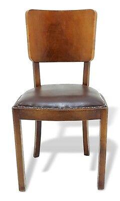 Sedia da collezione vintage in noce originale anni 50 for Sedia design svedese